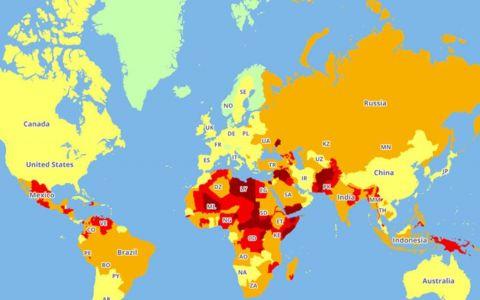 Cele mai periculoase tari din lume. Topul care iti poate schimba planurile de vacanta