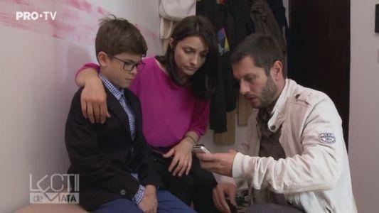 Luca a inceput scoala, iar parintii au observat ca are un comportament ciudat. Care e povestea baietelului