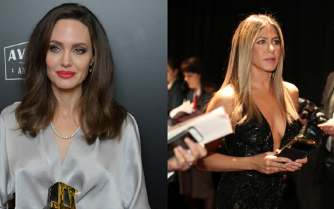Jennifer Aniston si Angelina Jolie vor prezenta impreuna Golden Globe Awards