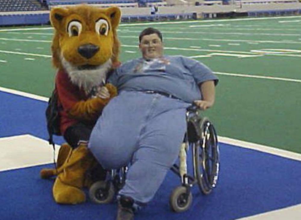 Un bărbat în vârstă de 43 de ani pierde în greutate