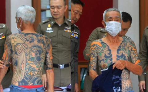 Fostul lider Yakuza, prins dupa ce politistii i-au descifrat tatuajele! Semnificatia pe care putin o pot intelege