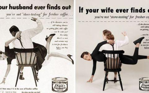 Un fotograf a transformat complet niste reclame vintage sexiste, iar rezultatele nu sunt deloc pe placul barbatilor