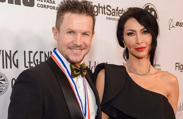 Mihaela Radulescu si Felix Baumgartner, extrem de eleganti la gala Living Legends of Aviation