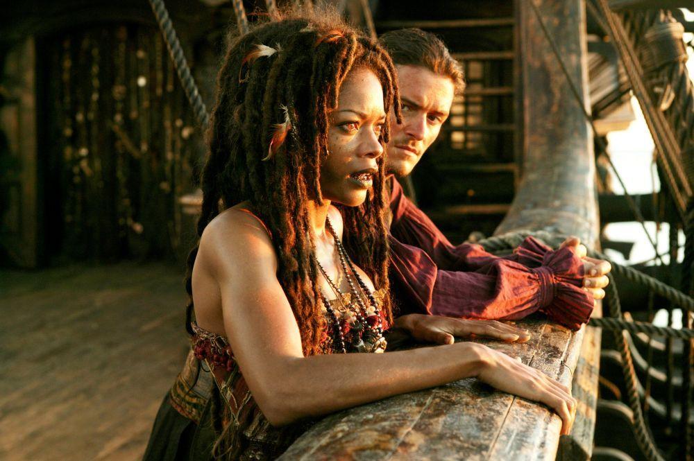 Cum arata Tia Dalma, vrajitoarea din  Piratii din Caraibe  fara machiaj si efecte speciale