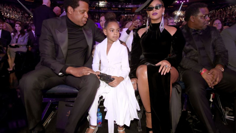 Beyonce, eclipsata de fetita ei la Premiile Grammy 2018. Cum arata tinuta cu care Blue Ivy a facut senzatie