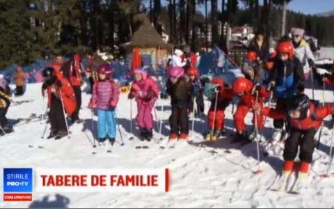Statiunile de la munte, pline de copii. Cat costa o tabara de familie
