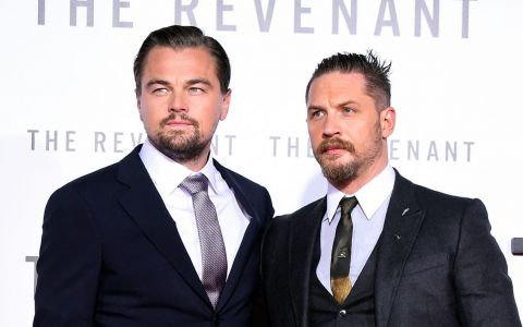 Tom Hardy a pierdut un pariu cu DiCaprio si a trebuit sa isi faca ce tatuaj a vrut acesta!