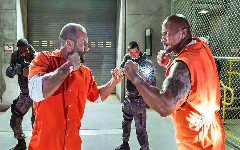 Fanii Fast Furious au fost surprinsi! Ce s-ar putea intampla cu personajele jucate de Jason Statham si Dwayne Johnson