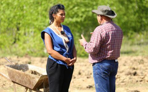 Majda Aboulumosha este fermierul saptamanii la Ferma vedetelor!