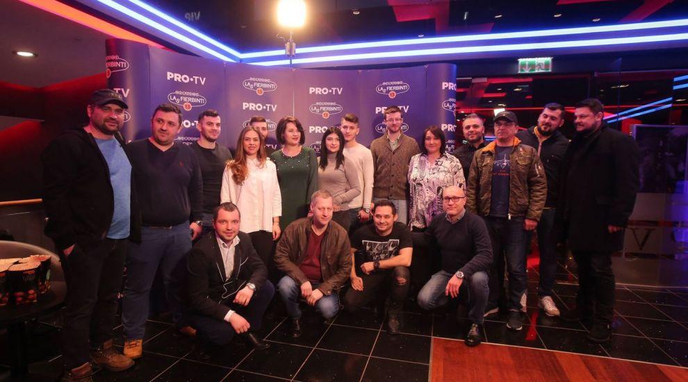 Actorii din Las Fierbinti au vazut avanpremiera noului sezon alaturi de 13 fani ai serialului