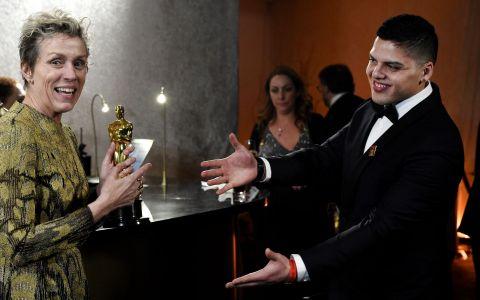 Oscarul primit de actrita Frances McDormand a fost furat. Cine este hotul