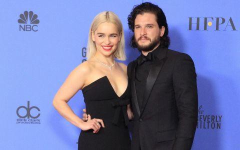 Actorii din Game of Thrones, surprinsi la o iesire in oras. Nu si-au dorit sa fie in centrul atentiei