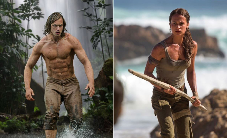 Cum te antrenezi ca sa arati ca Batman, Tarzan sau Lara Croft :) Metodele au fost dezvaluite