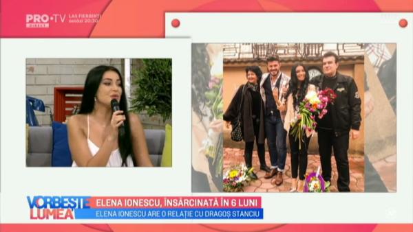 Elena Ionescu, insarcinata in 6 luni