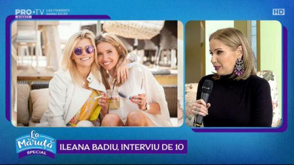Ileana Badiu, interviu de 10
