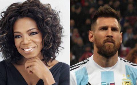 Mesajul lui Oprah Winfrey pentru Lionel Messi:  Trebuie sa fii un razboinic
