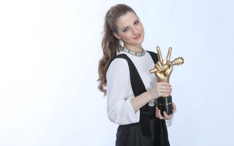 Ana Munteanu, castigatoarea Vocea Romaniei, joaca rolul Sophiei in Mamma Mia. Ce a declarat concurenta din Echipa Smiley