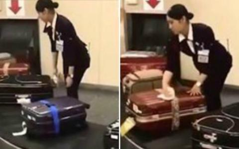 Imagini incredibile arata cum sunt tratate bagajele pasagerilor intr-un aeroport din Japonia