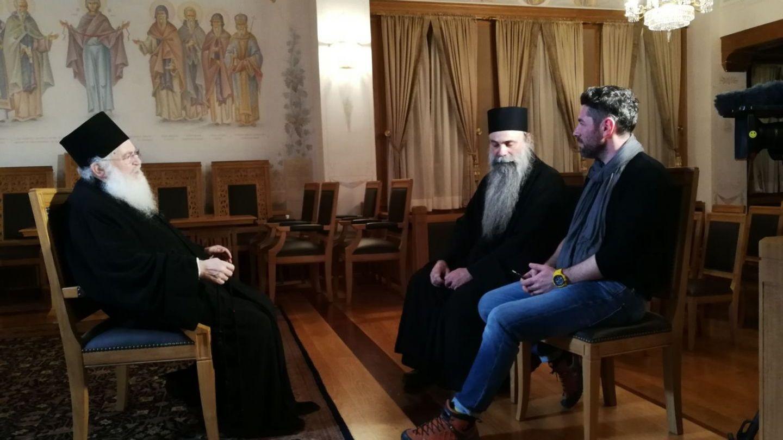 In Duminica Pastelui, Romania te iubesc! prezinta un reportaj despre credinta realizat la muntele Athos