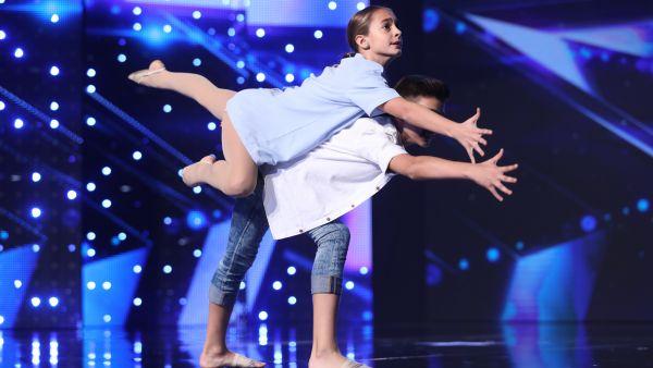 Romanii au talent 2018: Catalin Bucuresteanu si Anne Marie Zaharia - Dans contemporan
