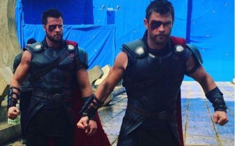 Cum se antreneaza Chris Hemsworth pentru rolul din  Thor . Cascadorul a dezvaluit toate detaliile