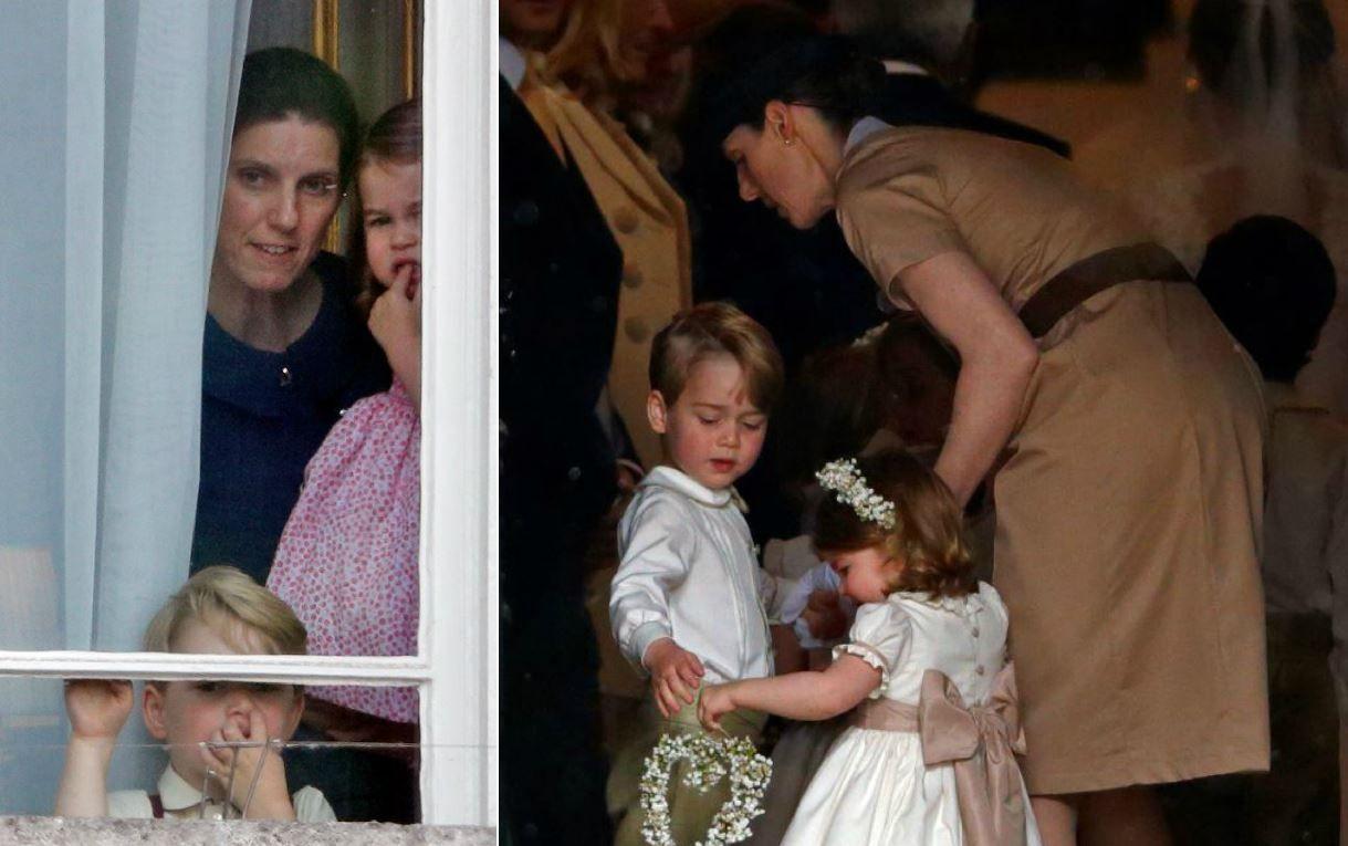 Dadaca familiei regale are pregatire antiterorista! Cat castiga femeia care are grija de copiii Printului si ai Ducesei