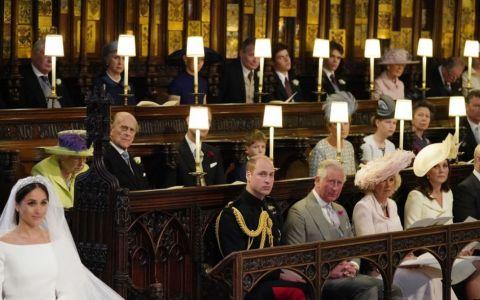 Cui ii era destinat locul liber de la ceremonia religioasa a Printului Harry si a actritei Meghan Markle?