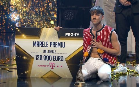 EMIL RENGLE este marele castigator Romanii au Talent 2018