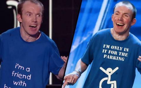 Un comediant fara voce a castigat cel mai mare concurs de talente din Marea Britanie