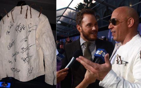 Vin Diesel isi vinde jacheta cu autografe celebre pentru a ajuta copiii bolnavi. Vezi cat cere pe ea