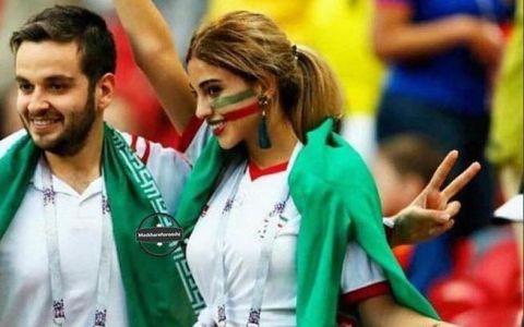 Imaginea cu o suporteră a echipei Iranului s-a viralizat la CM. Care e motivul