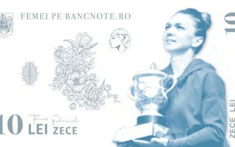 Motivul pentru care Simona Halep nu va ajunge prea curând pe o bancnotă românească