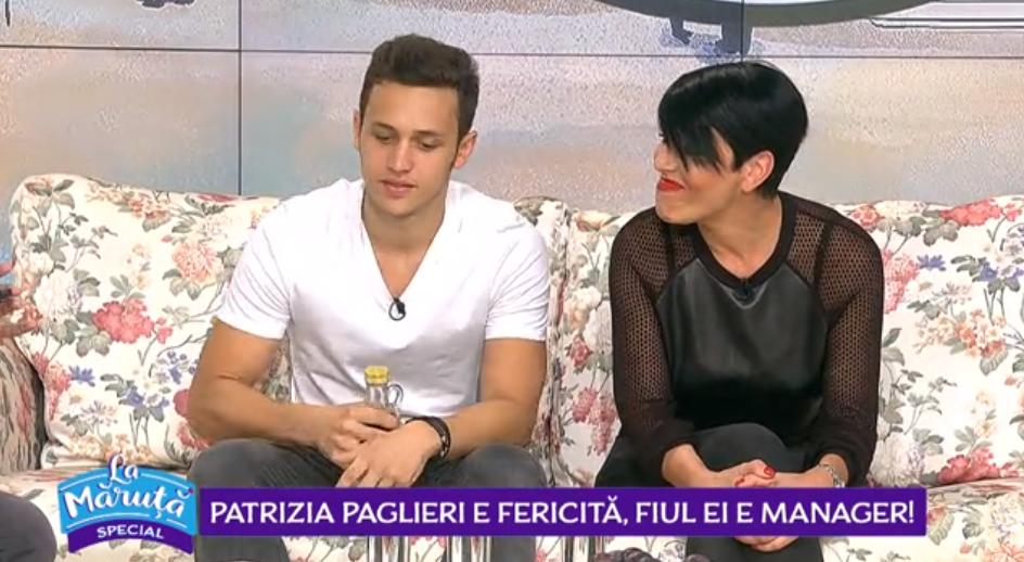 Patrizia Paglieri e fericită, fiul ei e manager!