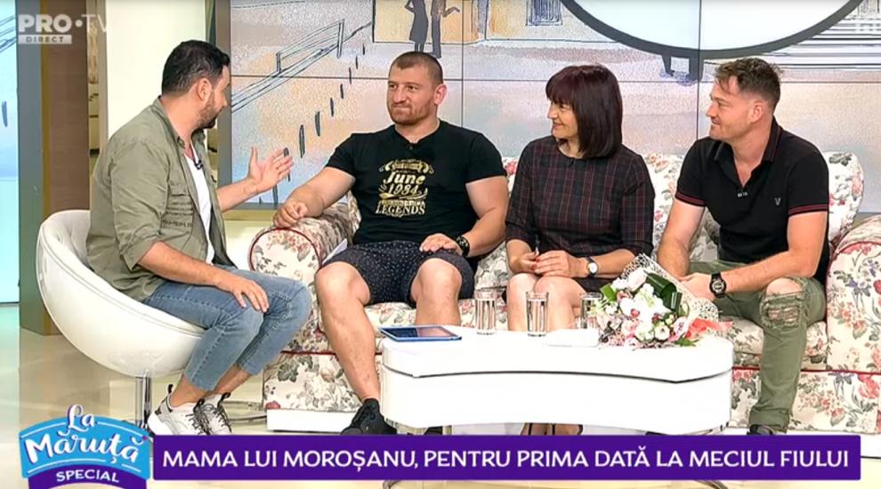 Campionul Cătălin Moroșanu, la povești alături de familie