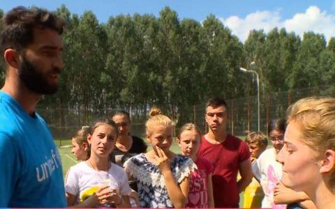 VIDEO: Horia Tecău, alături de copiii defavorizați. Tenismenul este ambasador UNICEF