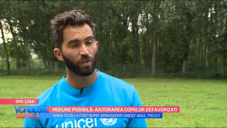 Ambasadorul UNICEF, Horia Tecău, se ocupă de ajutorarea copiilor defavorizați. Ce le-a pregătit tenismenul român