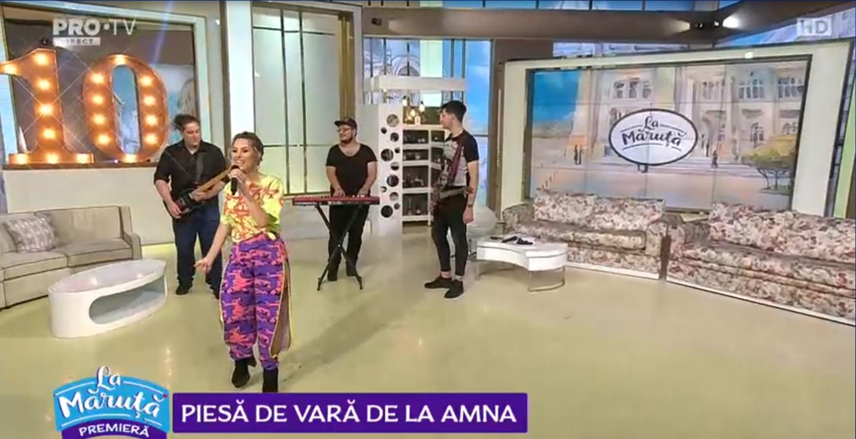 """Amna a lansat o nouă piesă de vară. Vezi cum sună """"De câte ori vrei tu"""""""