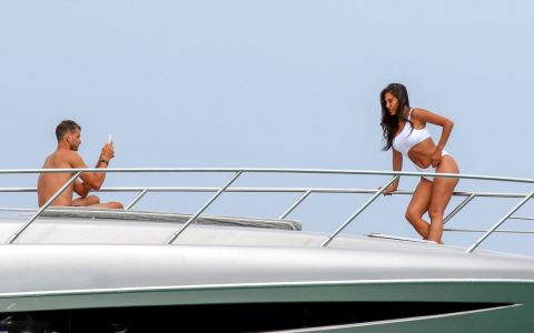Nicole Scherzinger și Grigor Dimitrov le-au oferit un adevărat spectacol fotografilor. Cum au fost surprinși