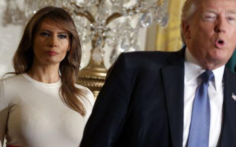 Melania Trump, îngrijorată că soțul ei are probleme psihice