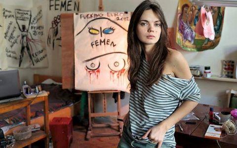 Cine a fost Oksana Shachko, co-fondatoarea grupării feministe Femen care s-a sinucis la 31 de ani