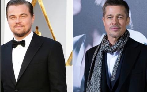 Brad Pitt și Leonardo DiCaprio sunt regii anilor  60. Poze uimitoare de pe platourile de filmare