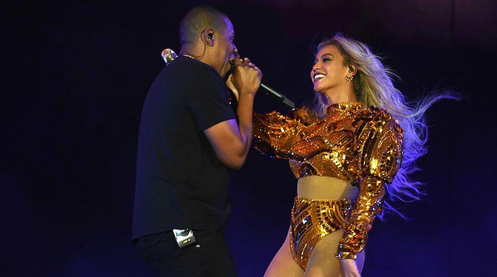 Moment emoționant în culise! De cine au fost vizitați Jay-Z și Beyonce în turneul lor