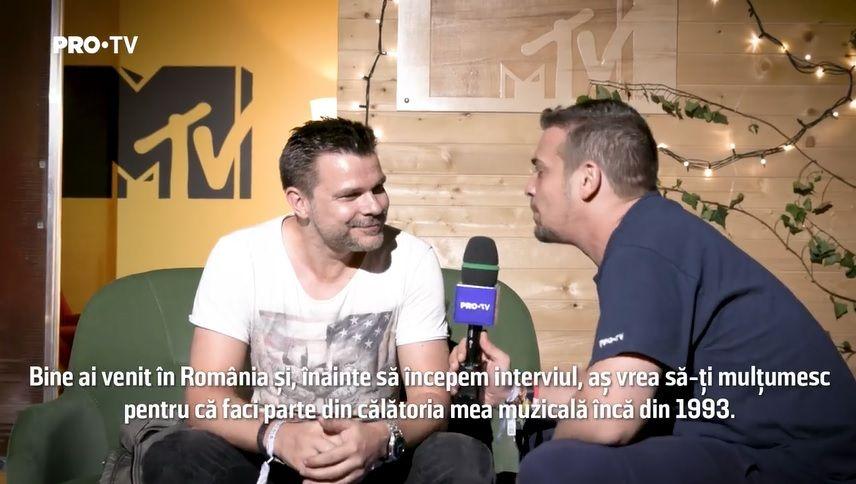 Interviu EXCLUSIV ATB: bdquo;În muzică trebuie doar să încerci să fii tu, să rămâi tu. Să rămâi firesc, normal!