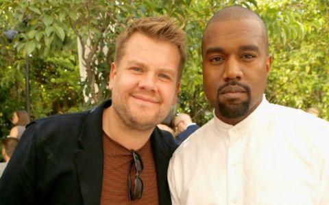 Kanye West, în război cu James Corden. Ce gest al rapperului l-a supărat pe entertainer