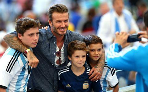 Familia Beckham se distrează de minune în vacanță. Pozele care au făcut furori pe Instagram