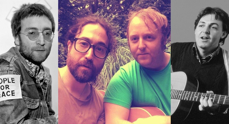 Fiul lui John Lennon și fiul lui Paul McCartney buni de selfie, dar n-au scos nicio piesă împreună