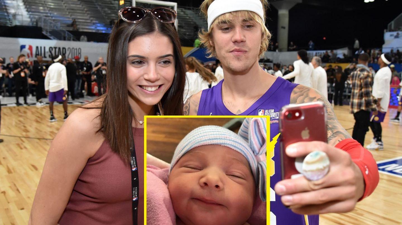 Justin Bieber e în culmea fericirii. Are nouă surioară, pe nume Bay, care e adorabilă