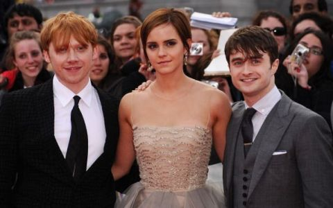 Actorii din Harry Potter s-au reunit în Los Angeles