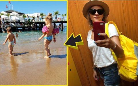 Ce poți păți dacă postezi pe rețele sociale poze de la plajă, cu copiii tăi în pielea goală. Cazul Mirela Vaida