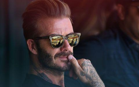 David Beckham a fost  Soldatul Universal  Primul lucru pe care l-a făcut după ce s-a întors din vacanță